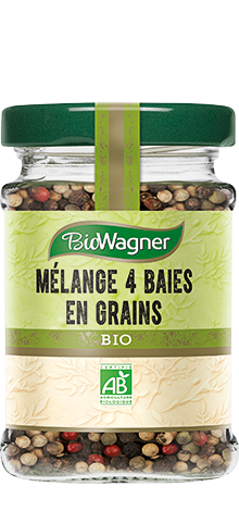 Bio Mélange 4 baies en grains,